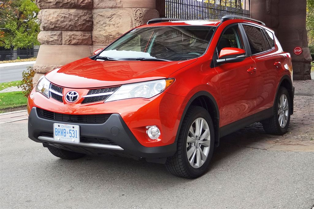 Test Drive 2015 Toyota Rav4 Awd Limited