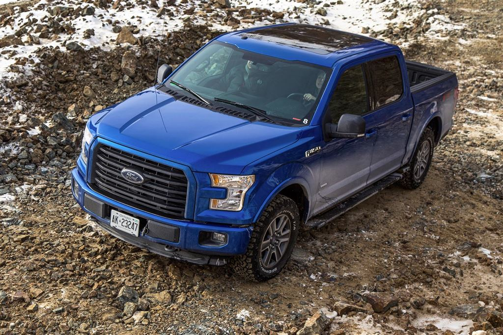 Test Drive: 2015 Ford F-150 Off-Road and Winter Test