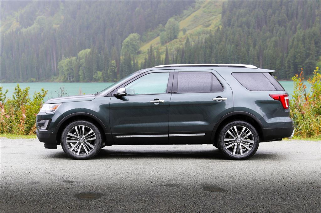 First Drive: 2016 Ford Explorer Platinum