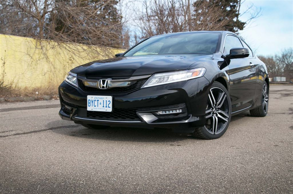 Test Drive: 2016 Honda Accord Coupe V6 Touring