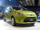 Ford unveils Fiesta small car at Montreal show
