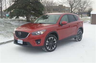 2016 Mazda CX-5 GT AWD; Day 3