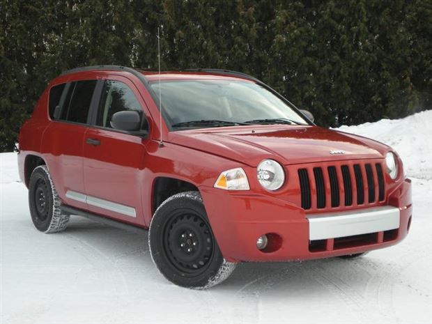Read about the Autos.ca Feature: Bring it on!  Jeep Compass AWD, Chevrolet Traverse AWD and Toyota Matrix AWD, Part One