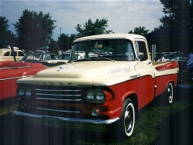 Read about the Autos.ca Motoring Memories: Dodge Sweptside pickup truck, 1957-1959