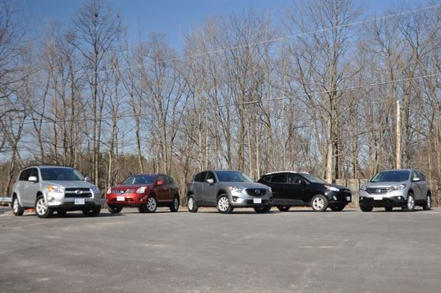 Read about the Autos.ca Comparison Test: Five Compact CUVs