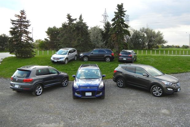 Read about the Autos.ca Comparison Test: Compact Crossovers, Round Two