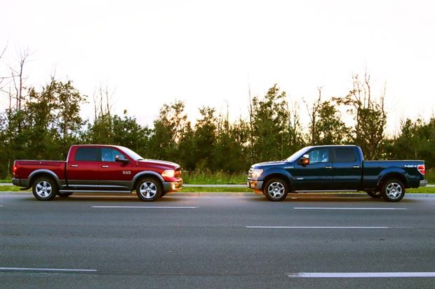 Read about the Autos.ca Ram, Ford In War Of Words And Math Over Towing Crown