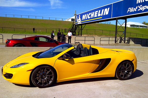 Read about the Autos.ca Track Test: McLaren MP4-12C Spider