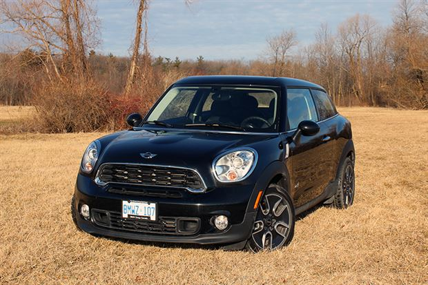 Read about the Autos.ca Test Drive: 2013 Mini Paceman Cooper S ALL4