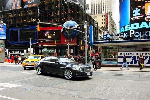 Read about the Autos.ca Road Trip: 2013 Jaguar XJ AWD to New York City