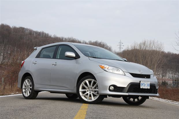 Read about the Autos.ca Test Drive: 2013 Toyota Matrix XRS