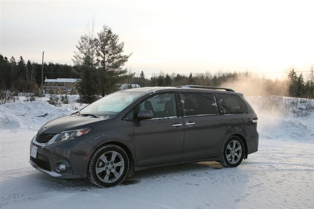 Read about the Autos.ca Day-by-Day Review: 2013 Toyota Sienna SE