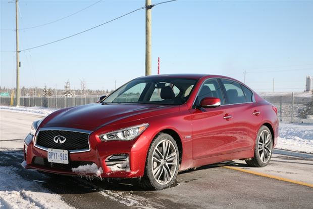 Read about the Autos.ca Day-by-Day Review: 2014 Infiniti Q50 AWD Hybrid