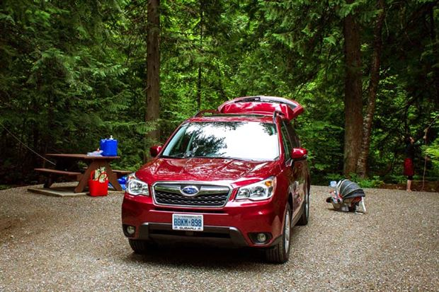 Read about the Autos.ca Road Trip: 2014 Subaru Forester 2.5i Limited Camping Trip