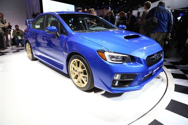 Read about the Autos.ca Preview: 2015 Subaru WRX STI
