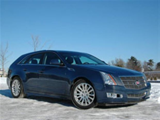 Read about the Autos.ca Test Drive: 2010 Cadillac CTS Sport Wagon