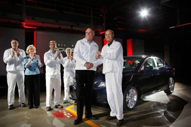 Read about the Autos.ca Production of the Acura ILX Begins