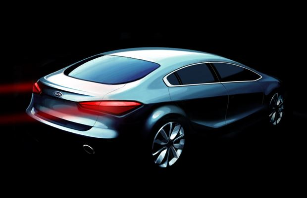 Read about the Autos.ca Kia Teaser Sketches Preview Next-Gen Forte