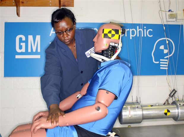 Read about the Autos.ca GM Working on New Crash Test Dummy