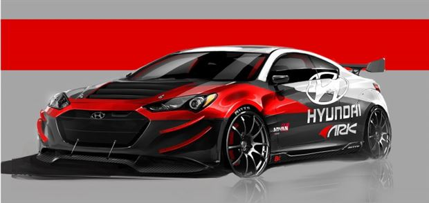 Read about the Autos.ca Highly Tuned Genesis Coupe R-Spec Set for SEMA