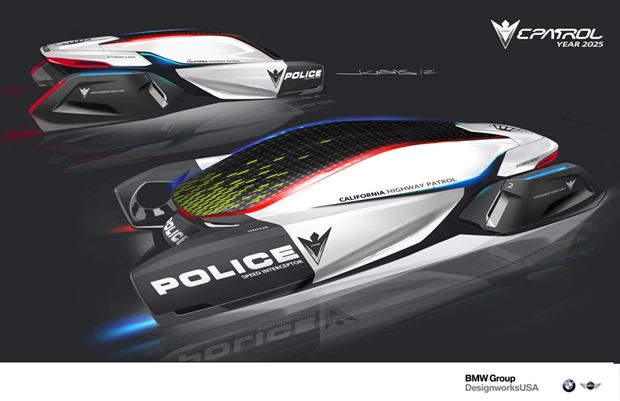 Read about the Autos.ca BMW's Vision of a 2025 Highway Patrol Vehicle
