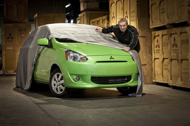 Read about the Autos.ca Official – New A-segment Mitsubishi Will Be Called Mirage