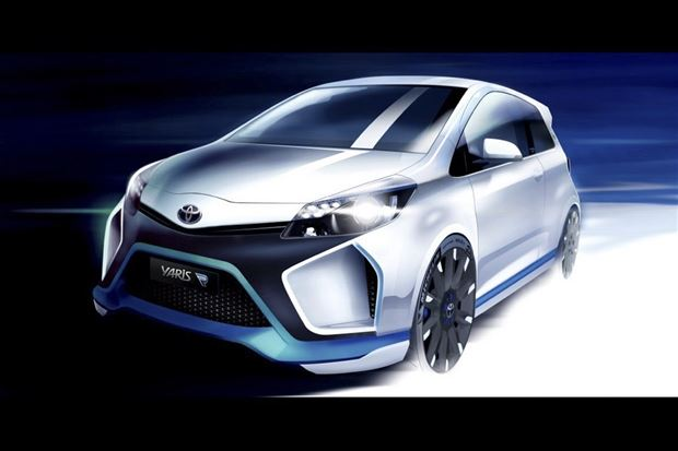 Read about the Autos.ca Toyota Shows Us The Yaris Hybrid R Before Frankfurt