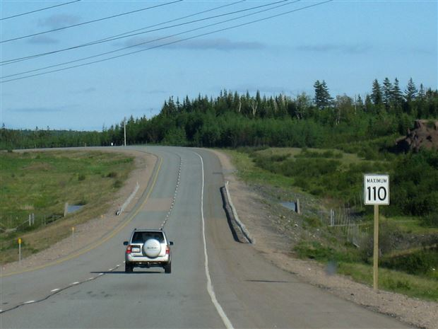 Read about the Autos.ca Should Certain Rural Roads In Canada Be Speed Limitless?