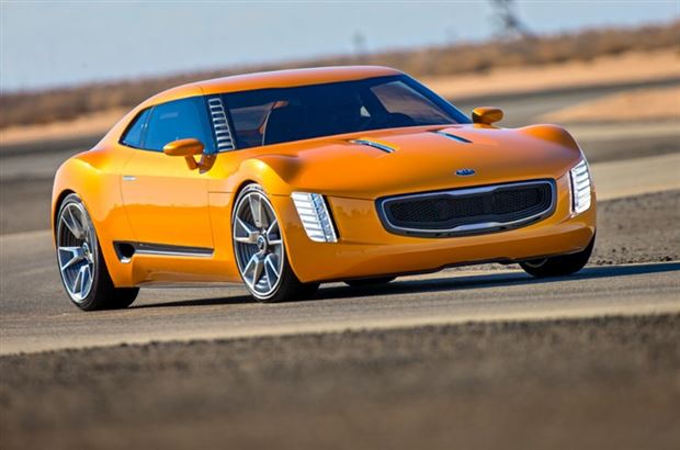 Read about the Autos.ca GT4 Stinger Is Kia's Wild Genesis Coupe