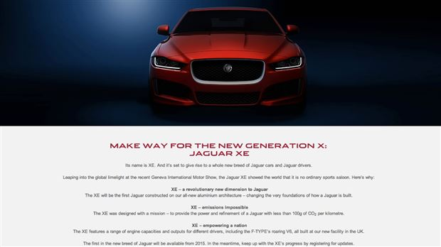Read about the Autos.ca Jaguar's XE Sedan To Get F-Type Supercharged V6
