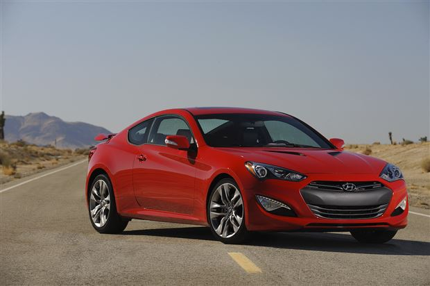 Read about the Autos.ca Hyundai Genesis Coupe To Go V6 Only For 2015