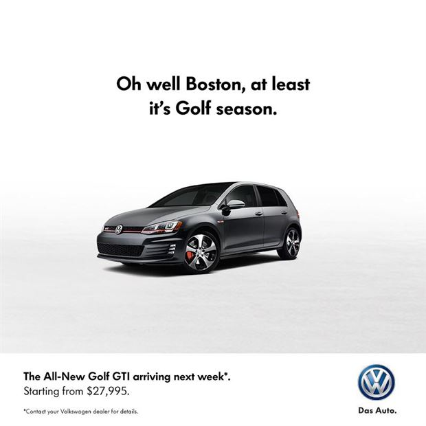 Read about the Autos.ca Volkswagen Canada Reminds Bruins Of Impending Golf Season