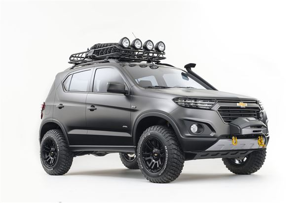 Read about the Autos.ca Chevrolet Niva Concept Is A Better Looking Jeep Than The Cherokee