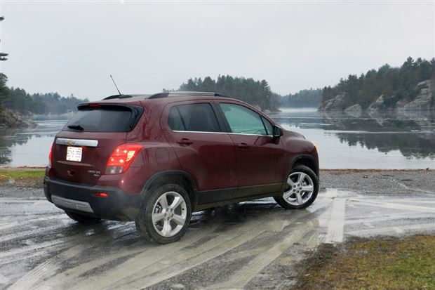 Read about the Autos.ca Chevrolet Trax, Buick Encore Could Spawn GMC Variant