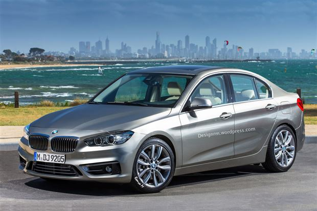 Read about the Autos.ca Rendering of the BMW 1 Series front-wheel-drive sedan