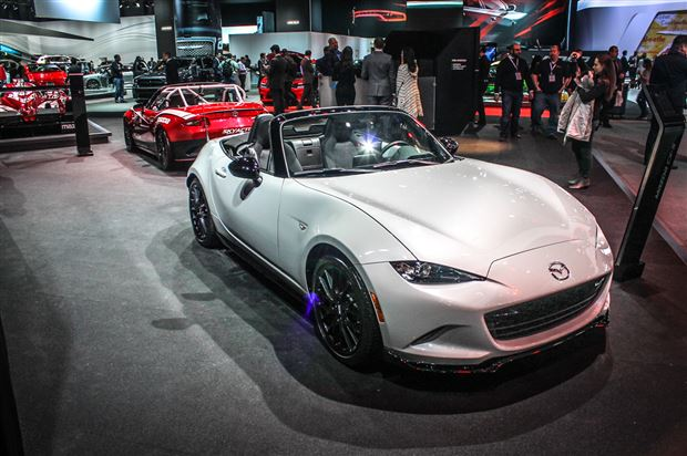 Read about the Autos.ca NYIAS: Mazda shows off Club and Launch Edition MX-5