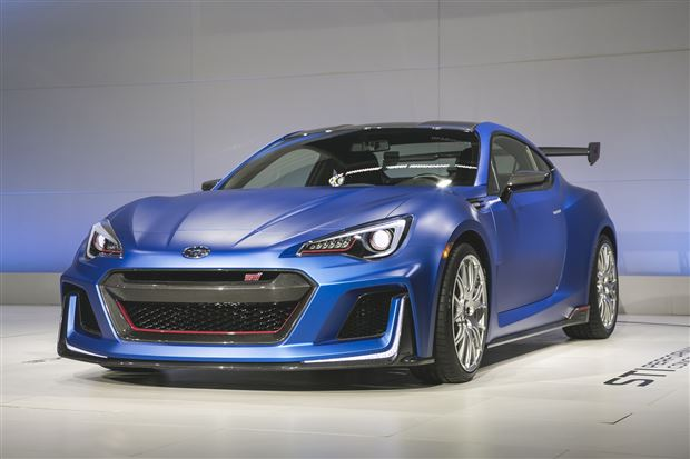 Read about the Autos.ca New York: Subaru BRZ STI Concept and STI Expansion