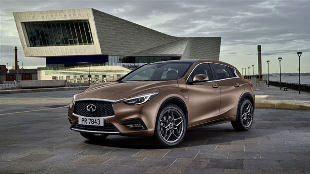 Read about the Autos.ca Infiniti reveals Q30 Premium Active Compact before Frankfurt debut