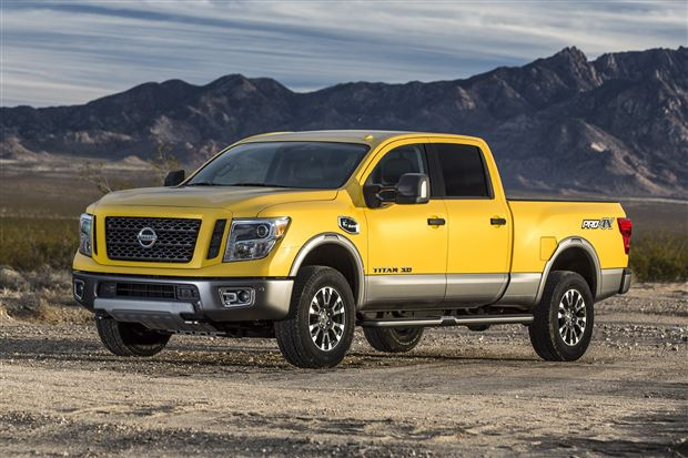 Read about the Autos.ca 2016 Nissan Titan XD named 2015 Truck of Texas