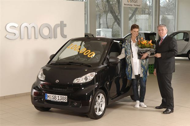 Read about the Autos.ca Smart delivers 100,000th redesigned Fortwo