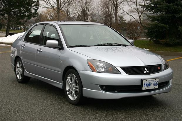 used vehicle review: mitsubishi lancer, 2003-2006 - autos.ca