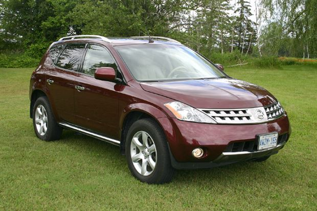 test drive 2006 nissan murano se awd. Black Bedroom Furniture Sets. Home Design Ideas