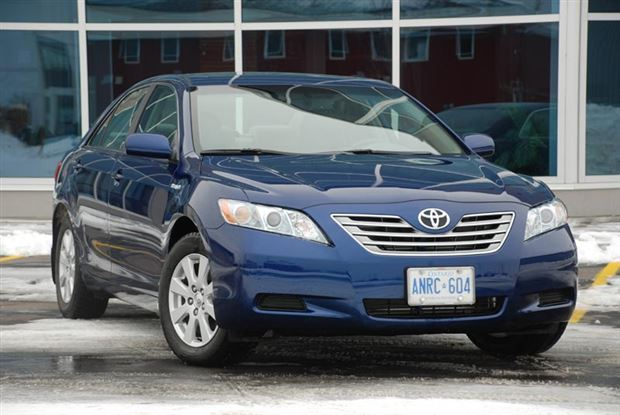 Test Drive 2008 Toyota Camry Hybrid