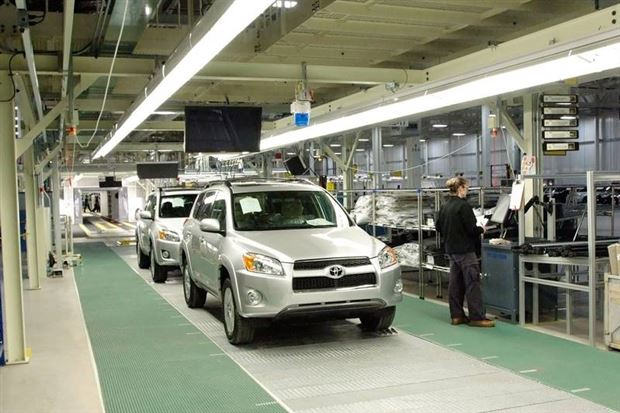 Feature Toyota S New Plant In Woodstock Ontario Autos Ca