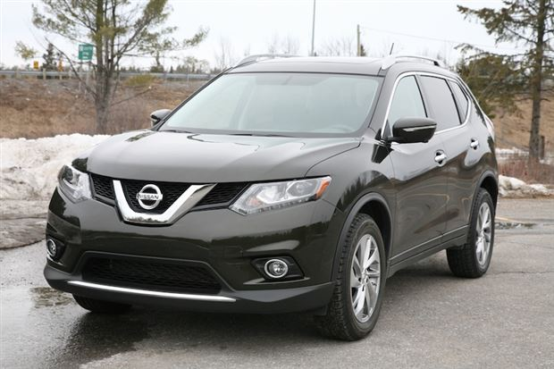 day by day review 2014 nissan rogue sl. Black Bedroom Furniture Sets. Home Design Ideas