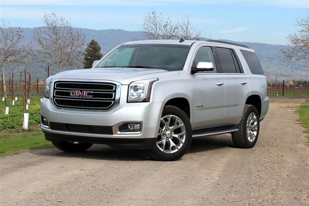 first drive 2015 chevrolet tahoe suburban and gmc yukon. Black Bedroom Furniture Sets. Home Design Ideas